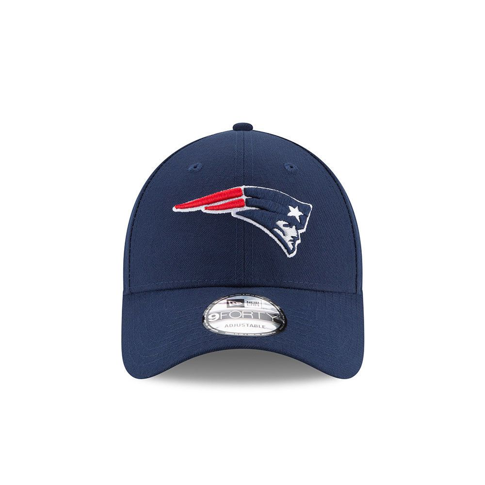 866329d38 ... norway new era new england patriots baseball cap.9forty nfl league  essential blue hat 7 ...